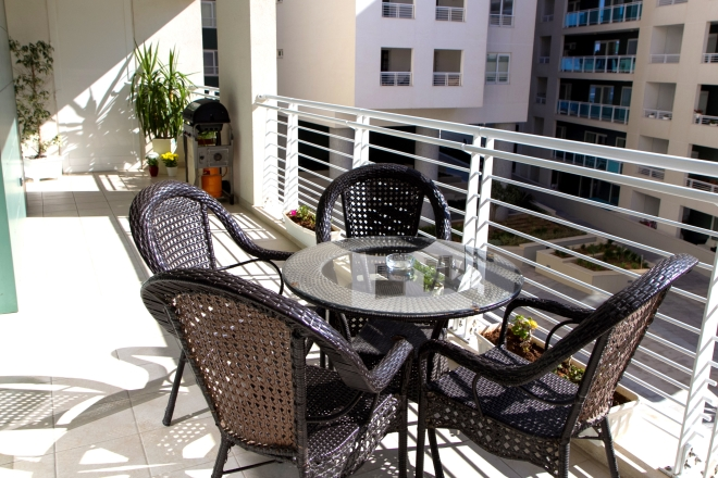 Apartment 1: Large sunny terrace