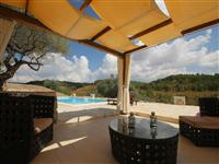 Enjoy the luxury & modern gazebo by the shared pool