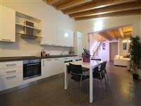 The spacious and modern fully equipped kitchen